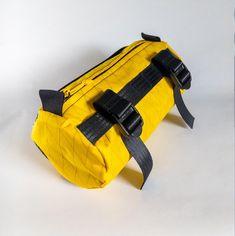 VAGABON BAGS Burrito bike handlebar bag Yellow | Etsy Bike Bag, Bike Handlebars, 3 Shop, Waterproof Fabric, Mid Length, Rain Jacket, Yellow, Bags, Etsy