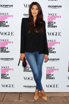 Pia Miller at Vogue Fashion's Night Out