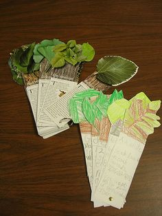 """They """"research"""" the text and add facts to their card that they can understand. It makes a great """"book"""" for the kids to keep when they're done. We use the leaf, insect, wildflower and other sets in our science center to make our collections."""