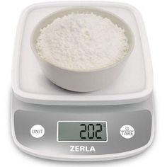 Price tracking for: Digital Kitchen Scale by Zerla - Versatile Food Scale - Weigh Snacks, Liquids, & Foods - Accurate Weight Scale within oz. - Great for Adkins Diet, Weight Loss Programs & Portion Control - Price History Chart and Drop Alerts for Amaz Electronic Kitchen Scales, Kitchen Electronics, Digital Kitchen Scales, Kitchen Gadgets, Kitchen Utensils, Kitchen Stuff, Food Portions, Food Scale, Weights