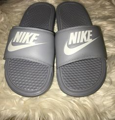 Nike Slides (Women) on Mercari Nike Slides, Pool Slides, Nike Sandals, Nike Benassi, Environment, Smoke, Mens Fashion, Times, Free Shipping