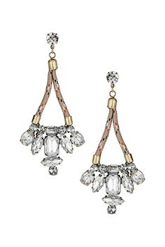 Sparkling earrings are the perfect finishing touch! #TopshopPromQueen #topshop #earrings #sparkle