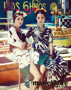 2014.06, Marie Claire, Jin Jung Sun, Hwang Se On