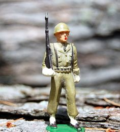 Starlux Vintage Toy Soldier Figurine by gerontology on Etsy