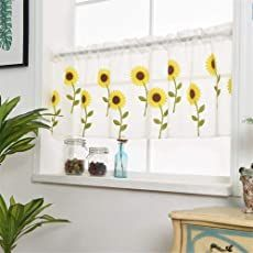 Shopping Cart Voile Panels, Voile Curtains, Valance Curtains, Window Sheers, Curtain For Door Window, Kitchen Curtains And Valances, Scarf Valance, Flower Curtain, Windows And Doors