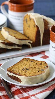 Fall Dessert Recipes, Fall Desserts, Fall Recipes, Breakfast Recipes, Quick Bread Recipes, Sweet Recipes, Baking Recipes, Best Pumpkin Bread Recipe, Pumpkin Recipes