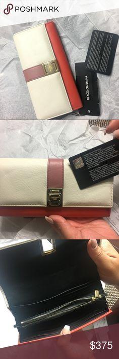 Dolce & Gabbana Leather Clutch Continental Wallet Dolce & Gabbana Multicolor Leather Clutch Continental Wallet Dolce & Gabbana Bags Wallets