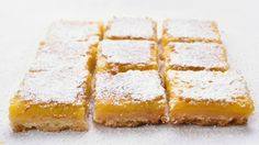 These tasty lemon bars have double the zest and zing from lemon in both the crust and filling. You will love them.