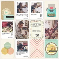 Digital Project Life | Maggie Holmes Styleboard  - Scrapbook.com