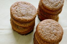 chewy molasses cookies (almond flour) #glutenfree