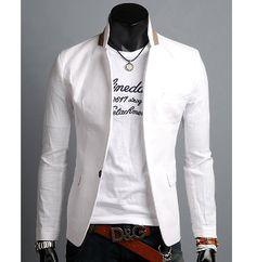 Men's Single Button Casual #Blazer