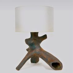 Tim Orr; Glazed Earthenware Table Lamp, 1970s.