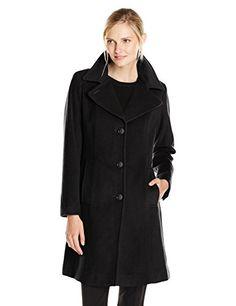 Anne Klein Women's Single Breasted Wool Cashmere Coat with Notch Collar, Black, 2 Anne Klein http://smile.amazon.com/dp/B00ZFR6URU/ref=cm_sw_r_pi_dp_vyCxwb1ZCWSWQ