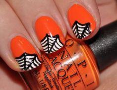 Halloween nails #nailart