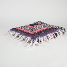 Bright Stripe Serapa Blanket - for use as tablecloths for a mexican party