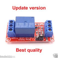5V 12V 24V 10A 1-Channel Relay Module Optocoupler H/L Level Triger for Arduino