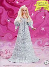 Sleeping Beauty, Annie's Fairy Tale Collection crochet patterns fit Barbie dolls