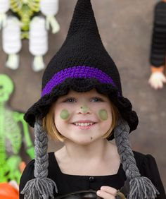 Bewitching Hat - crochet - free downloadable pattern
