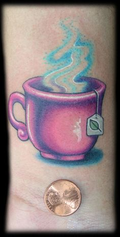 :) Love it..I want a tiny teacup!