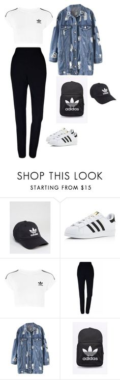"""Untitled #207"" by nono-love-niall ❤ liked on Polyvore featuring adidas, Plakinger and adidas Originals"