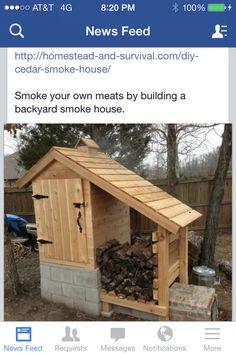Cedar smoker