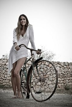 Easy, natural beauty (and a bike!)
