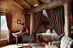 Voice of Nature Rustic Cabin bedroom