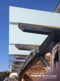 Detailansicht auf das Glasdach mit VSG-Mattfolie Patio, Terrace, Safety Glass, Sunshine, Sun Room, Porch, Courtyards