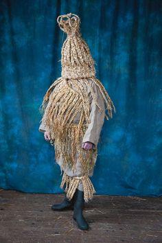 Strawboy. Aughakillymaude mummers. Men of straw. Irish heritage.