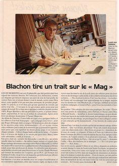 Blanchon - La Der de Blachon - L'Équipe Magazine - samedi 23 décembre 2006 - N° 1278