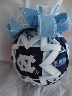 University of North Carolina Tarheels Quilted by ncgalcreations, $15.00