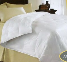 """NorthCrest Twin Bed Down Comforter Creamy Ivory Warm & Cozy by Shopko. $79.99. Twin comforter  has 250 thread count and measures 63"""" by 86"""". 500 fill power provides lofty warmth - Made from 100% cotton with minimum 75% down fill. 9 inch box step design allows down to fully loft. Brand name is NorthCrest Home - Machine wash - Hypoallergenic. Northcrest twin size down comforter is ivory in color with all natural down. This warm and cozy comforter is filled with a..."""