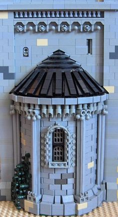 apse - ~ Lego MOCs Fantasy ~ Best Picture For diy clothes For Your Taste You are looking for something, - Legos, Lego Burg, Lego Sculptures, Lego Boards, Amazing Lego Creations, Lego Building, Round Building, Lego Modular, Lego Room