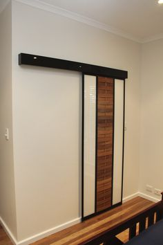 Form Function NT - Australia's Leading Designer, Fabricator & Supplier of Custom Sliding Doors. From Mirror Sliding Doors to one of Designs Visit our Website to see what is Possible. Wardrobe Shelving, Elfa Shelving, Sliding Wardrobe Doors, Sliding Doors, Modern Barn, Barn Doors, Homes, Curtains, Design