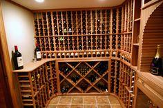A custom wine cellar from WineRacks.com