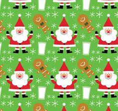 Title: Santa Cookies Pattern Illustrator: Steve Mack All inquiries for images can be sent to: Steve Mack Illustrator steve@stevemack.com Lori Nowicki Painted Words Licensing Agentlori@painted-words.com