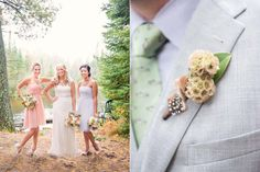 match the grooms boutonnieres to the bride's bouquet for beautiful wedding photography picture ideas, http://www.luxlightphotography.net/?p=11150