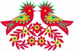 folklore et motif polonais.