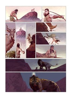 17 illustration by Ahmad Mir Comic Book Layout, Comic Books Art, Bd Cool, Illustrations, Illustration Art, Deviantart Comic, Storyboard, Graphic Novel Art, Comic Book Panels