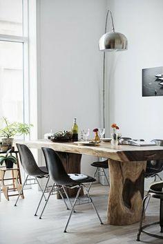 Mesa de madera #livingroom #comedor