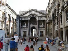 Diocletian's Palace, Split, Croatia. #croatia #travel #archaeology
