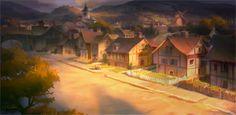 Nathan Fowkes Art: Autumn in Shrek's world