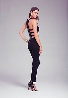 Cage Back Jumpsuit! I need this like now !