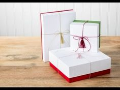 When I saw the How to Make Your Own Custom-Sized Boxes Video Tutorial from Stampin' Up!, I knew that pretty gift boxes How To Make Box, Make Your Own, Make It Yourself, Envelope Box, Envelope Punch Board, Christmas Gift Box, Handmade Christmas Gifts, Christmas Wrapping, Watch Gift Box