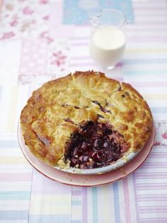 Cherry pie Jamie Oliver