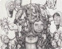 Les illustrations au crayon de l'artisteestonienAnton Vill(behance), basé àTallinn, qui nous dévoile un étrangeunivers organique, aussi fascinant