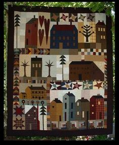 House Sampler-block of the month