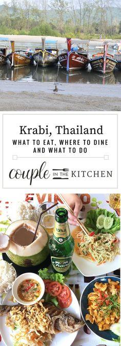 What to do in Krabi, Thailand   coupleinthekitchen.com
