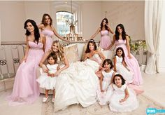 loved the colors and all the flowers of this wedding -Pandora: Real housewives of Beverly Hills