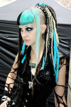 Just your everyday #Goth girl Psychara. Lovely!